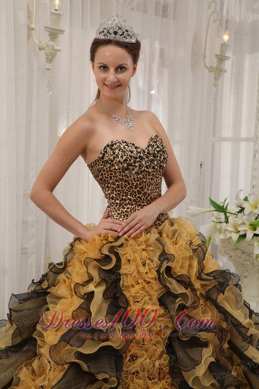 Unique Colorful Sweetheart Quinceanera Gowns 2014