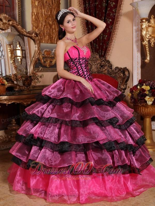Trendy Quinceanera Dress Sweetheart Organza Ruffles