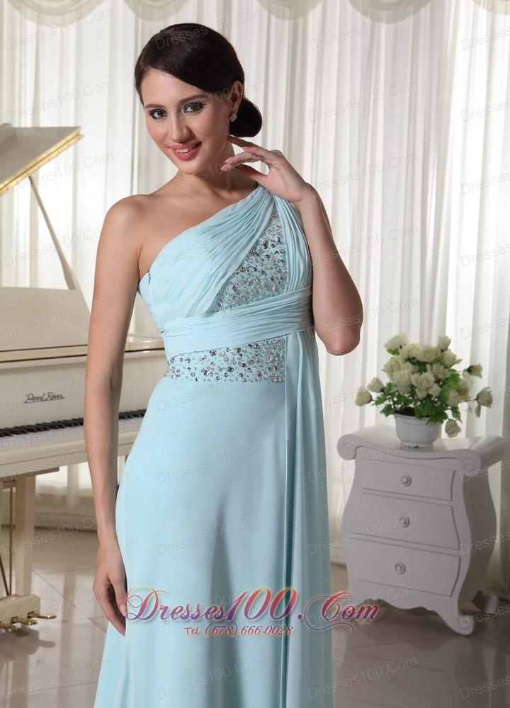 Beaded maxi evening dress
