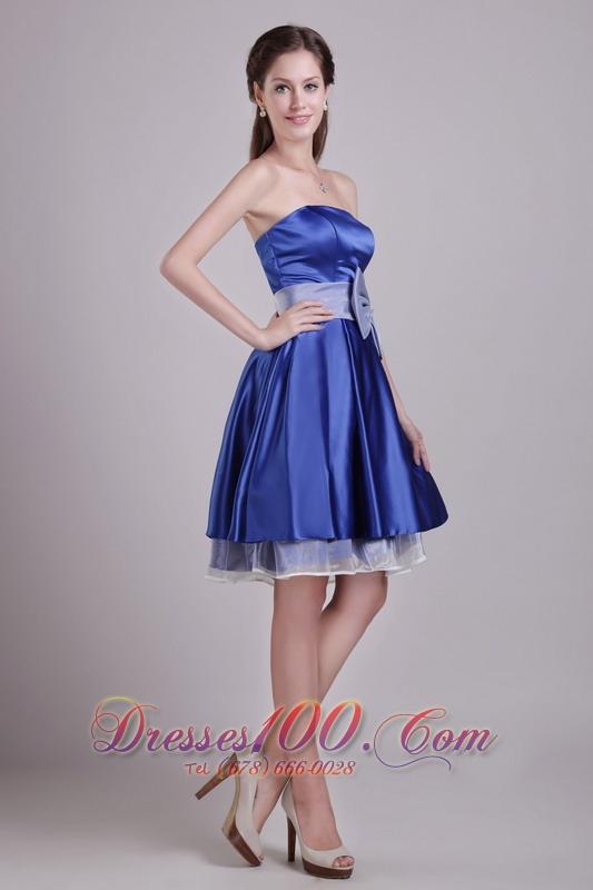 Blue Dama Dresses