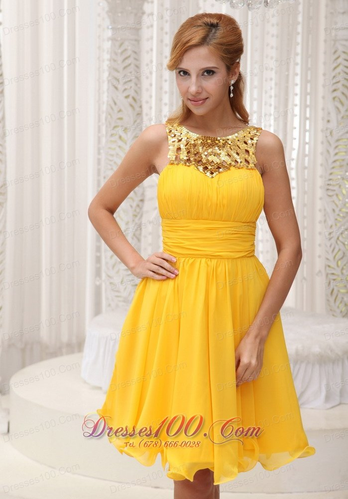Yellow And Gold Prom Dresses 6