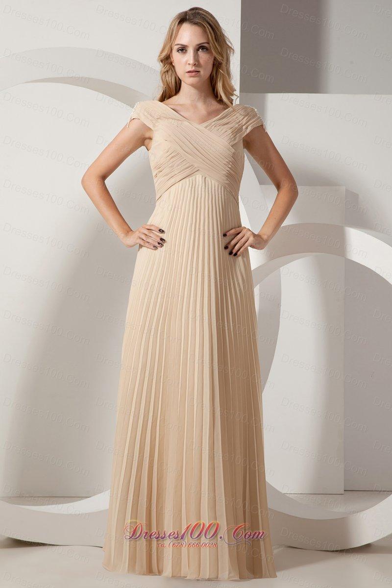 Chiffon maxi dress formal
