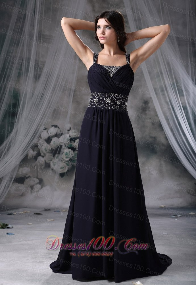 Navy blue formal dress plus size