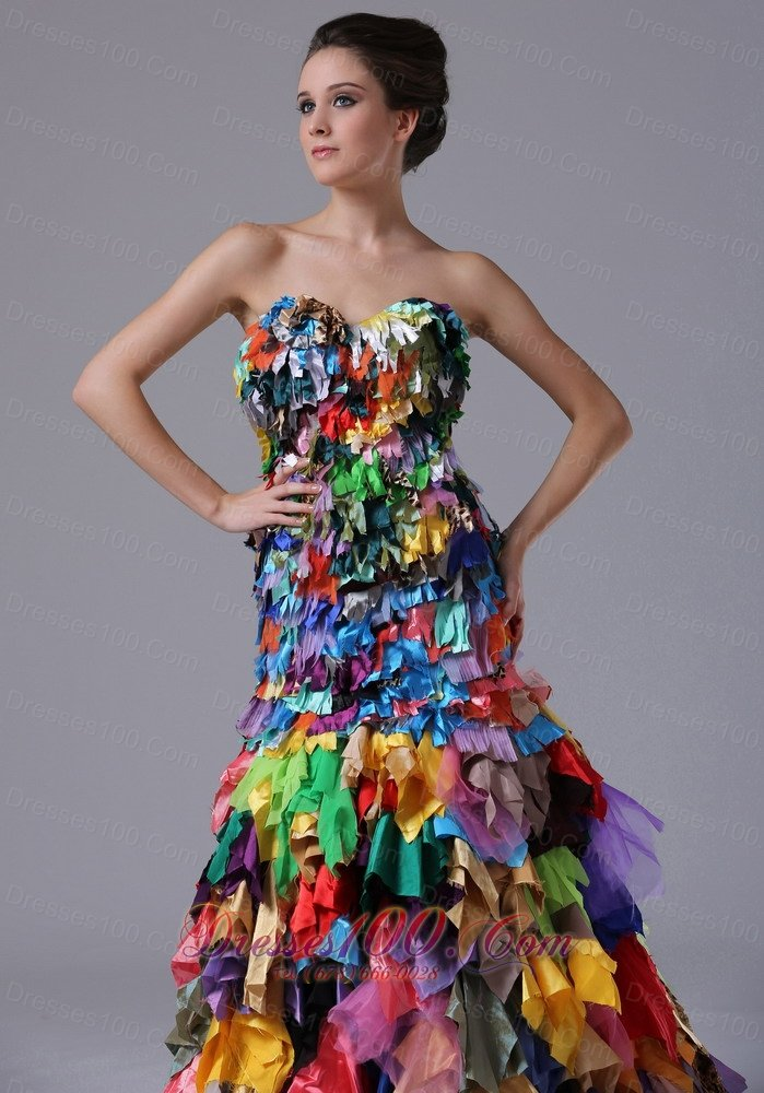 Multi Colored Prom Gowns