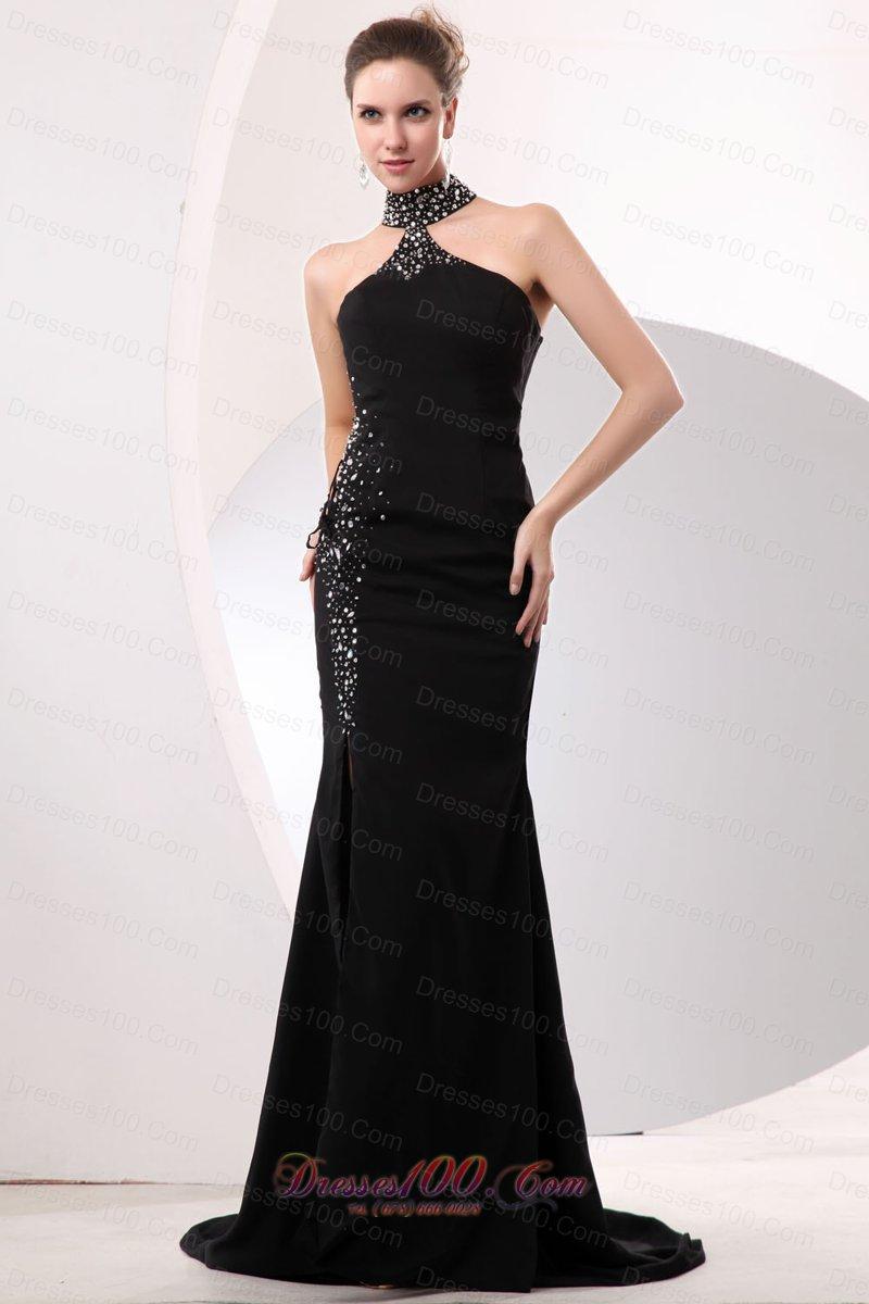 high neck dress celebrity - photo #40